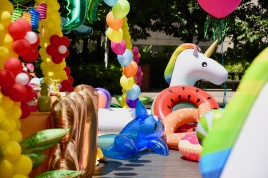 Yu Ern's Class of 2017 Summer Pool Party
